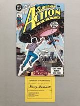 Action Comics (1938 DC) #658 Signed by Kerry Gammill VF Very Fine - $29.70