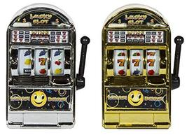 Set of 2 Slot Machine Shaped Pencil Sharpeners - Reels Really Spin! - $4.70