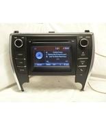 15 16 17 Toyota Camry Display Screen Radio Cd Player P10803 86140-06370 ... - $326.70