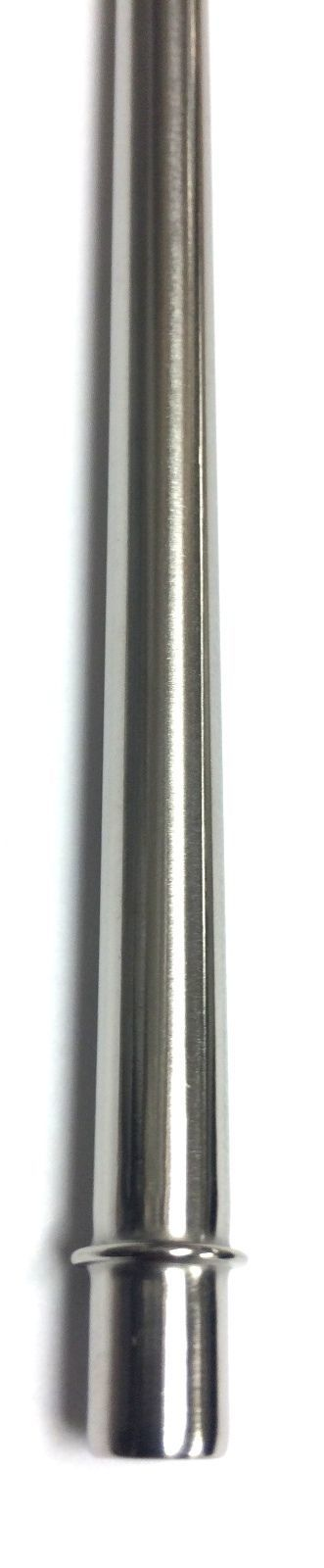 2 Replacement Straws Stainless Steel Reusable Washable Drinking Fits Starbucks