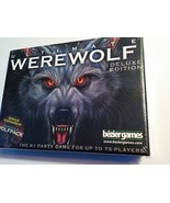 FACTORY SEALED Bezier Games Ultimate Werewolf Deluxe Edition 75 Player C... - $19.79