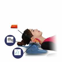 Massage Pillow Low Frequency Vibration Vertebra Massager Heating Physiot... - $203.99