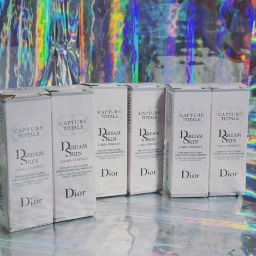 6x 3mL NEW IN BOX Dior Dream Skin Global Age Defying Skincare 18mL Total