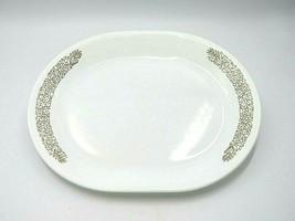 """Vintage Corelle Woodland Brown Corningware 12"""" Server Platter - $22.95"""
