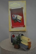 Hallmark - To My Gouda Friend - Mouse Gets Envelope from PO Box - Ornament - $8.90