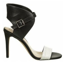 Women's Shoes Vince Camuto TARMA High heels Sandals Embossed Croc Ivory ... - $69.99