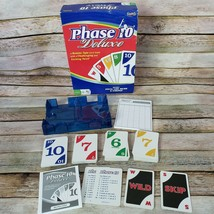 Phase 10 Deluxe Card Game 2009 Fundex Card Holder Score Pad Cards Complete - $19.80