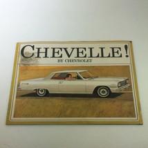 VTG 1963 Chevrolet Chevelle 300 Station Wagon Car Auto Brochure Catalog - $17.05