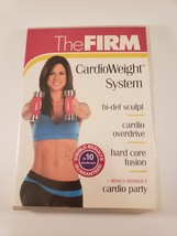 The Firm Cardio Weight System Workout DVD Fitness Sculpt Hard Core Body ... - $8.59