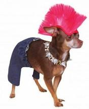 Rubie's Punk Rocker Pet Costume and Wig Size XL - €11,64 EUR