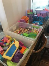 Large Lot Of Polly Pocket Dolls Clothes Accessories Hotel Ship Cafe Fountain Etc - $125.00