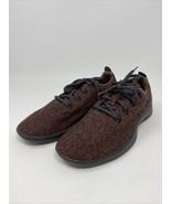 Allbirds Women's Dark Kea Red Wool Runners Size 9 Tennis Shoes Skater  - $49.49