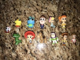Toy Story 4 Minis Blind Bag Figures Full set lot of all 12 With Bo Peep ... - $44.54