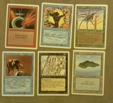 Magic the Gathering 6 card revised 3rd Edition mtg card lot shatter isla... - $1.97