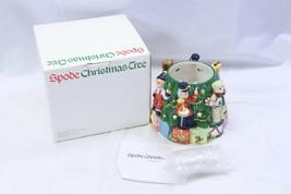 Spode Christmas Tree Toys Around the Tree Votive Holder  - $22.49