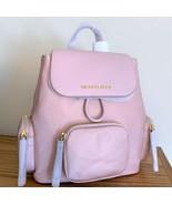 Michael Kors Abbey Medium Cargo Backpack ~ Blossom Pink Nylon & Leather NWT - $119.95