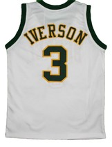 Allen Iverson #3 Bethel High School New Men Basketball Jersey White Any Size image 4