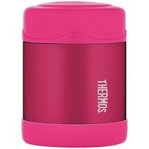 THERMOS liquid 10 Ounce Food Jar, Pink founataineer soup, food pasta top... - $13.35