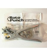 Roto Punch Complete Home Mending Solutions Eyelets Snap Fasteners As See... - $17.47