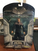 Star Trek Nemesis Captain Jean-Luc Picard With Phaser Art Asylum Action ... - $5.00