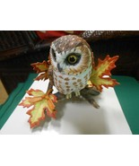 "Great  LENOX Porcelain ""Saw Whet Owl"" Figure.....FREE POSTAGE USA - $22.36"
