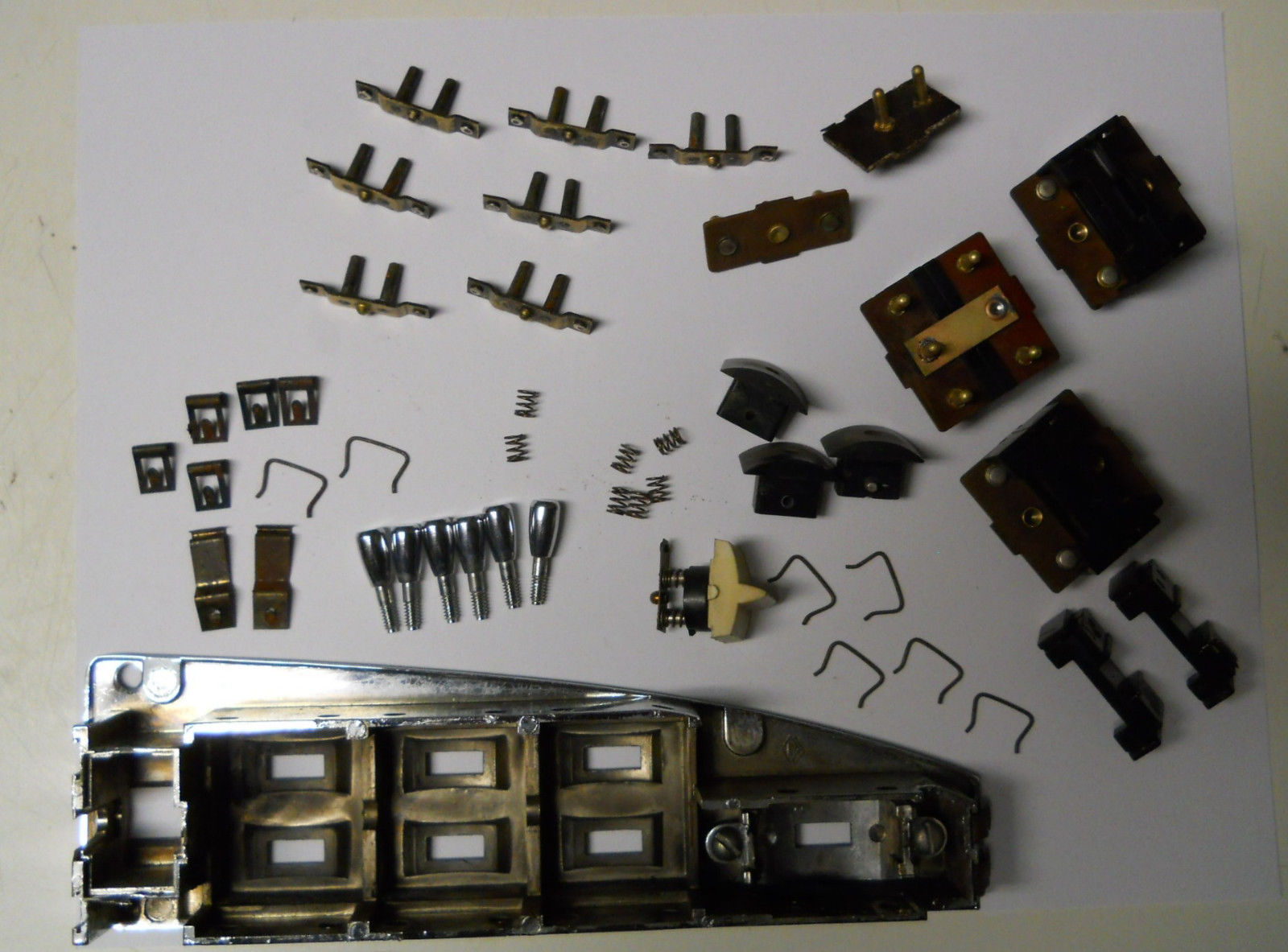 70 71 Barracuda Cuda Dodge Challenger Variable Wiper Switch Rebuilding Service