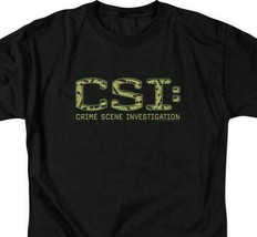 CSI t-shirt TV crime drama collage logo 100% cotton graphic tee CBS946 image 2