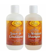 Shea Butter Solutions Deep Moisture Shampoo Organic Leave-In Conditioner - $29.69