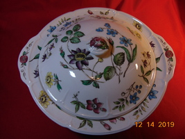 """10 1/4"""", Round, Covered Vegetable Bowl, from Johnson Bros., Wakefield Pattern - $29.99"""