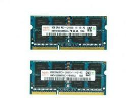 16GB 2x 8GB DDR3 1600mhz PC3-12800S Hynix SODIMM Laptop Memory RAM Non-E... - $61.11