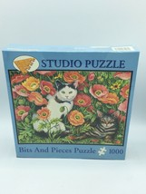 Bits And Pieces Puzzle 1000 Piece Studio Puzzle Poppy Cats 20 X 27 NEW - $23.36