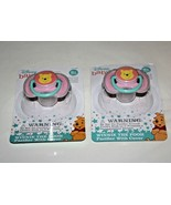 Disney Baby Pacifiers with Covers ~Winnie The Pooh ~ BPA FREE *Set of 2*... - $9.49
