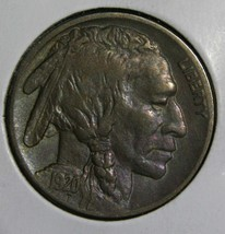 1920D Toned Buffalo Nickel 5¢ Coin Lot # EA 284
