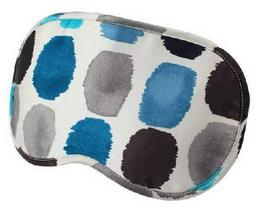 Lovely Eye Mask Mulberry Silk Eyeshade Sleep Eye Mask Wave Point BLUE