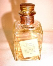 ANTIQUE BOTTLE OF VIVANI BRILLIANTINE HAIR OIL BENJAMIN LELAND & CO NEW ... - $24.30