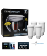Zerowater ZD-013 Filtration Pitcher with Electronic Tester + Replacement... - $84.99+