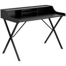 Black Computer Desk Organizer Storage Shelf Small Student School Dorm Wr... - $90.10