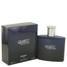 Quartz Addiction by Molyneux Eau De Parfum  3.4 oz, Men - $30.54