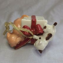 Avon 2006 Collectible Porcelain Gift Box Ornament Christmas Decoration Xmas image 4