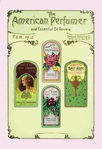 American Perfumer and Essential Oil Review, February 1912 - Art Print - $19.99+