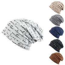Unisex Hip-Hop Warm Winter Cotton Polyester Knit Ski Beanie Skull cap Hat