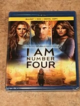 I Am Number Four (Blu-ray/DVD/Digital, Disney Film) BRAND NEW / FACTORY ... - $6.28
