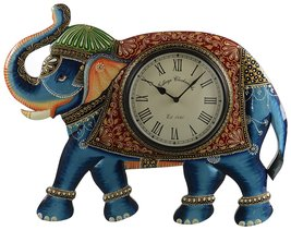 decorative elephant clock for home and office decorative arts  - $40.00