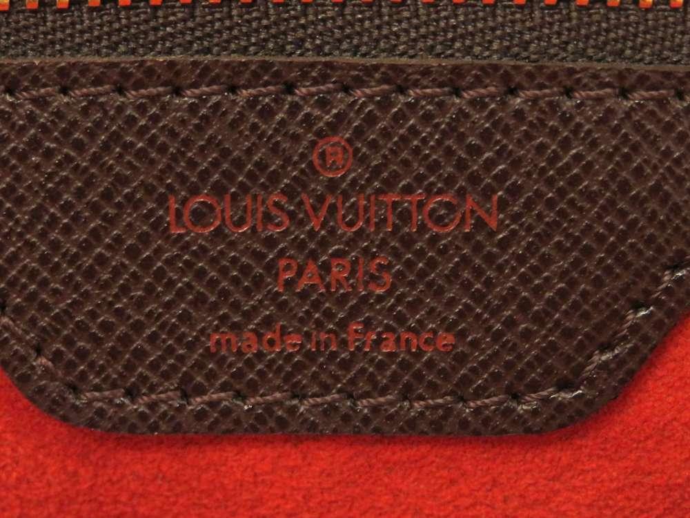 LOUIS VUITTON Brera Damier Canvas Ebene Handbag N51150 France Authentic image 8