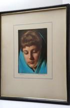 1968 MEDITATION Exhibited AWARD WINNING PHOTOGRAPH Framed 21×17 OOAK - $39.95