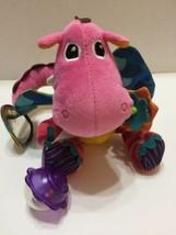 """Lamaze Plush Sensory Learning Toy BabyToddler Dinosaur Colorful 10""""T  - $9.49"""