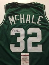 Autographed/Signed KEVIN MCHALE Boston Green Basketball Jersey JSA COA Auto - €120,27 EUR