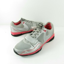 Nike Max Air Trainer One Women's Size 9 Silver Pink Running Shoes 407865... - $26.99