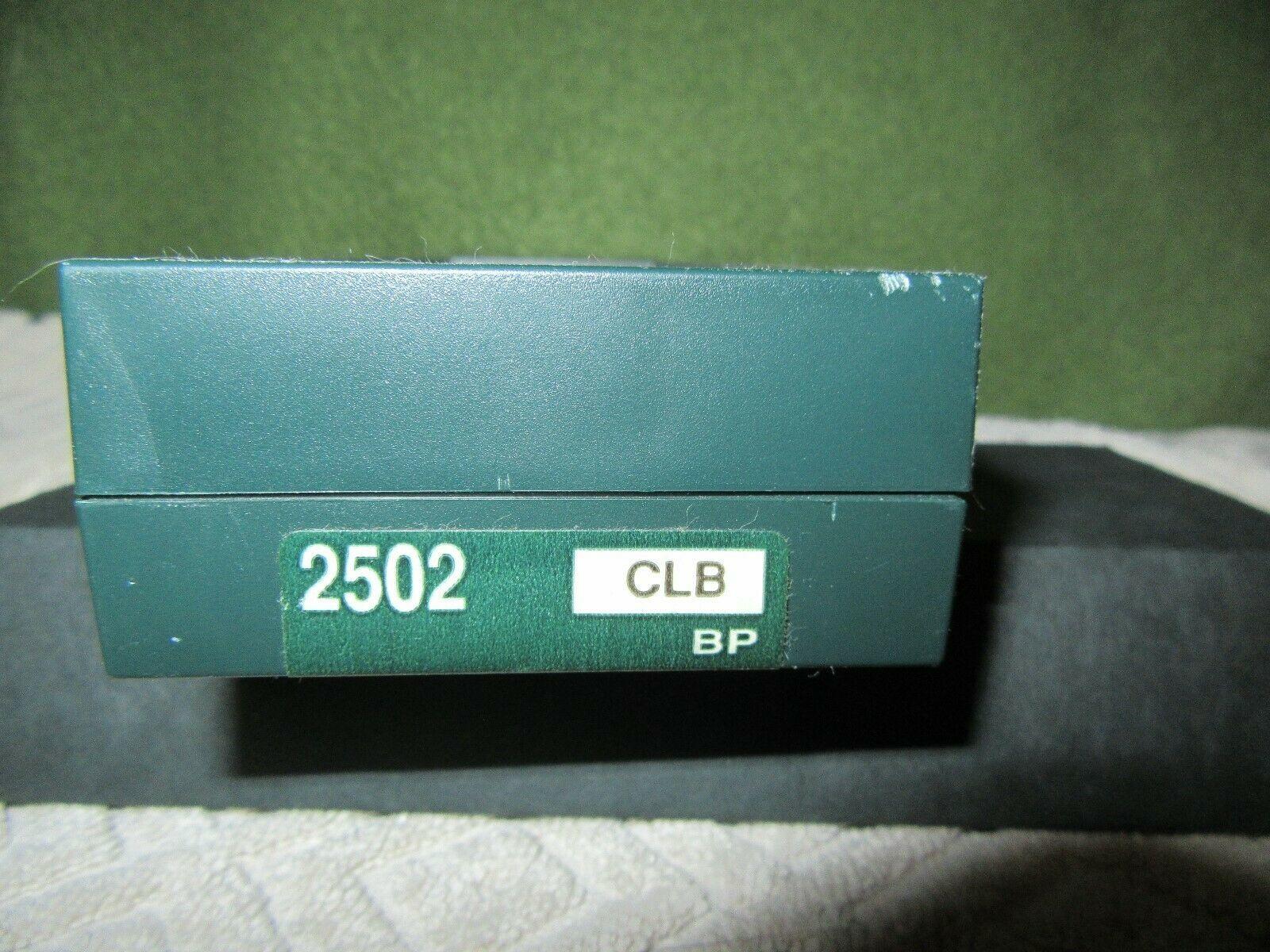 Nice Cross Pen 2502 Classic Matte Black With Booklet In Original Case/Box VNC!!