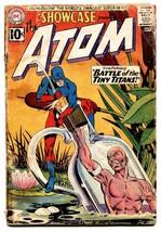 Showcase #34 comic book 1961-DC-1st Silver Age Atom-Gil Kane - $181.88